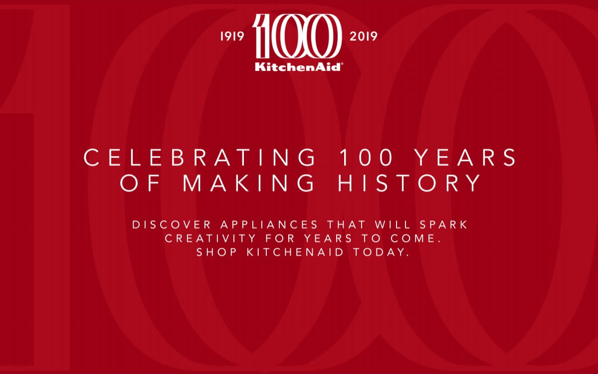 Celebrating 100 years od making history.